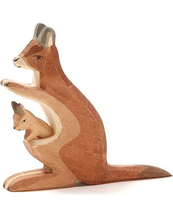Ostheimer Känguru m. Kind 2-tlg. -.-