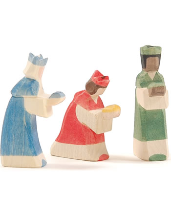 Ostheimer Groupe de rois MINI 3 pièces