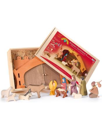 Ostheimer Nativité assortiment de 13 pièces II. 60 201