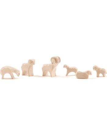 Ostheimer Famille mouton MINI 6 pièces