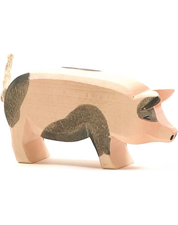 Ostheimer Schwein hoch gefleckt