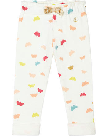 Petit Bateau Hose für Mädchen Schmetterlinge marshmallow/multicolor 52849-01