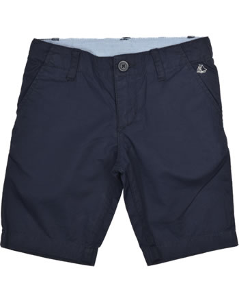 Petit Bateau Jungen Bermuda-Shorts aus Twill smoking blau 28022-84