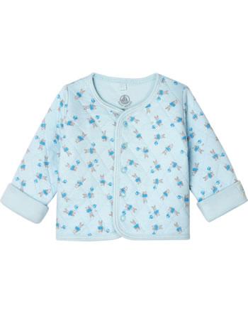 Petit Bateau Veste garçon à motif lapin fraicheur/multicolor 53143-02