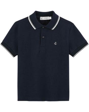 Petit Bateau Polo shirt short sleeve smoking 53925-02