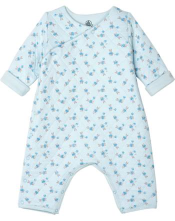 Petit Bateau Boy creeper bunny blue 53147-02