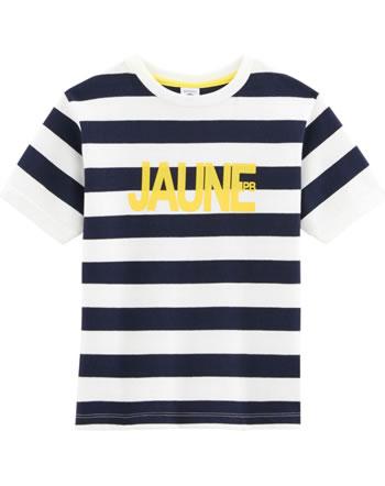 Petit Bateau T-shirt à manches courtes smoking/marshmallow 55424-01