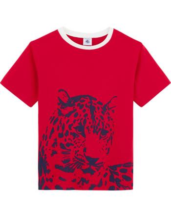 Petit Bateau Boys shirt short sleeve Big cat terkuit 54250-05