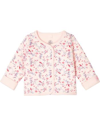 Petit Bateau Veste fille à motif floral fleur/multicolor 53143-01