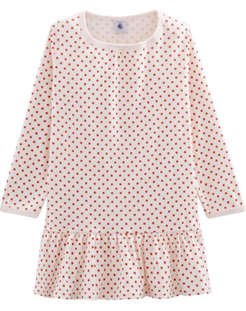Petit Bateau Nightgown long sleeve Dots rose/pink 52241-01