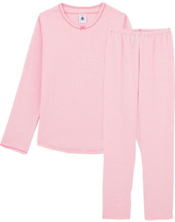 Petit Bateau Sleeping suit Set of 2 LILERAIE gretel/marshmallow 56625-01