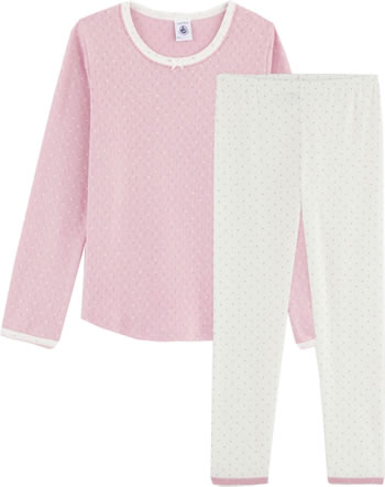 Petit Bateau Sleeping suit Set of 2 LIO marshmallow/charme 57120-01