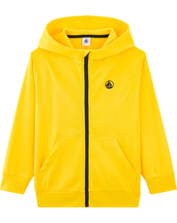 Petit Bateau Sweat jacket with hood boy shine 54265-02