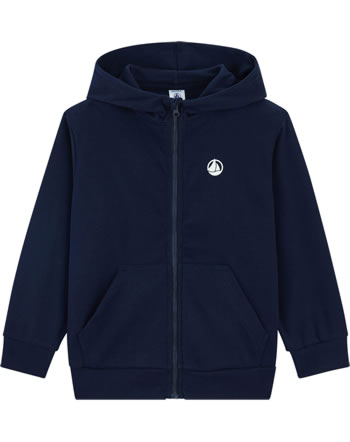 Petit Bateau Sweat-Jacke mit Kapuze für Jungen smoking 54265-05