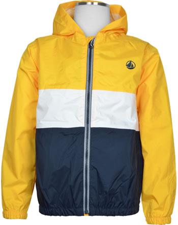 Petit Bateau Sweat jacket with hood boy jaune/multic. 53667-01
