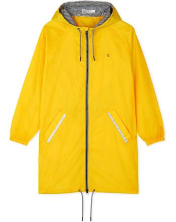 Petit Bateau Damen Windjacke Regenjacke Overcoat gelb 50223-01