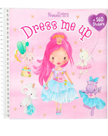 Princess Mimi Dress me up painting book with stickers 11158