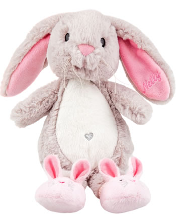 Princess Mimi plush rabbit Nelly with shoes light 28 cm grey