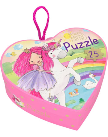 Princess Mimi puzzle in heart box 25 pieces