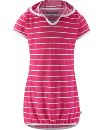 Reima Frottee Kleid Kurzarm UV-SF 50+ GENUA berry pink 535029-4464