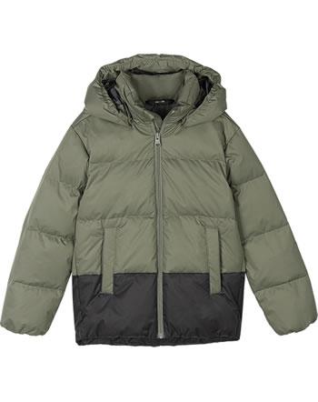 Reima Daunen-Jacke mit Kapuze TEISKO greyish green 531539-8920