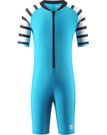 Reima Kinder Badeoverall UV-SF 50+ GALAPAGOS cyan blue 526373C-7320