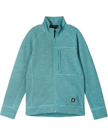 Reima Kinder Sweat-Jacke mit Stehkragen Merino MISTS cold mint 536520-7600