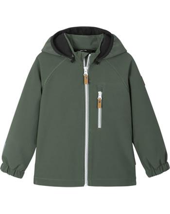 Reima Softshell-Jacke VANTTI thyme green 521569-8510