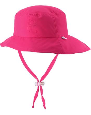 Reima Sonnen-Mütze breite Krempe TROPICAL berry pink 528655-4460