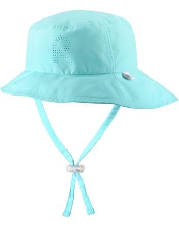 Reima Sonnen-Mütze breite Krempe TROPICAL light turquoise 528655-7150