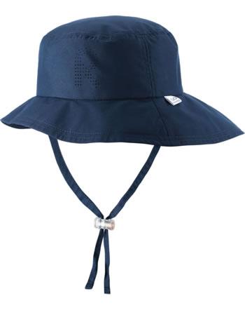 Reima Sonnen-Mütze breite Krempe TROPICAL navy 528655-6980