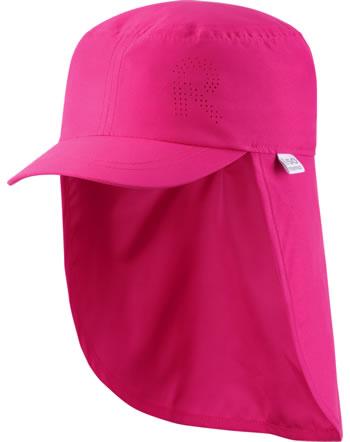 Reima Sonnen-Mütze m. Nackenschutz ALOHA berry pink 528659-4460