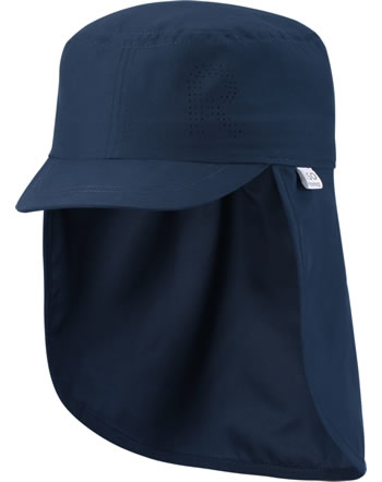 Reima Sonnen-Mütze m. Nackenschutz ALOHA navy 528659-6980
