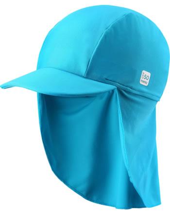 Reima Sonnenhut mit Nackenschutz UV-SF 50+ TURTLE cyan blue 518554A-7320