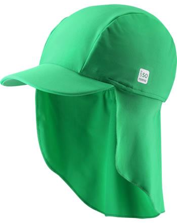 Reima Sonnenhut mit Nackenschutz UV-SF 50+ TURTLE jungle green 518554A-8450