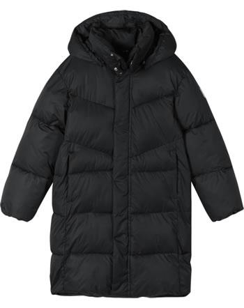 Reima Winter-Mantel mit Kapuze Steppstruktur VAANILA black 531540-9990