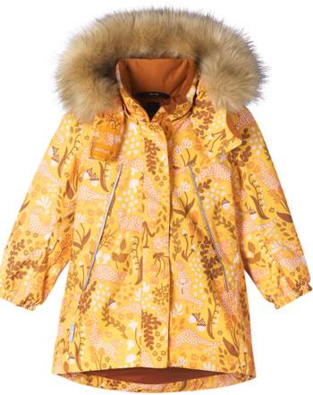 Reima Winterjacke/Parka m. Kunstfell-Kapuze MUHVI orange yellow 521642-2406