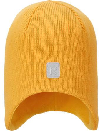 Reima Wollmütze Beanie Merinowolle PIPOPAA orange yellow 528727-2400