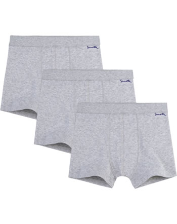 Sanetta 3 pieces Boxer Shorts NOS lightgrey melange 333736-1646