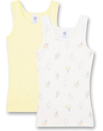 Sanetta Lot de deux sous-maillots fille Sweet Summer white pebble 335243-1948