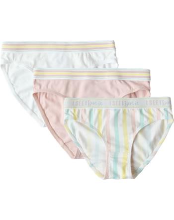 Sanetta Lot de 3 slips fille Japanese Summer lemon 346829-2094