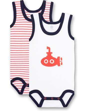 Sanetta Body bébé sans bras lot de 2 white 323076-10