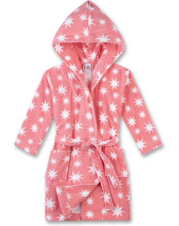 Sanetta Bademantel/Morningcoat Velours Frottee coral light 232288-3937