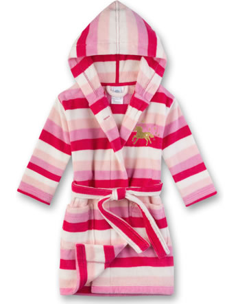 Sanetta Bademantel/Morningcoat Velours Frottee pretty pink 232457-3845