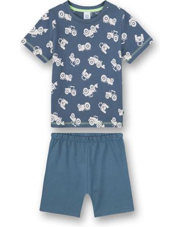 Sanetta Boys Pyjama short Excavator bering sea 232583-50281