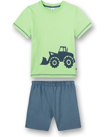 Sanetta Jeune Pyjama à manches courtes Excavatrice lime 232582-40011