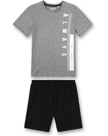Sanetta Boys Pyjama short elite grey mel. 244934-1914