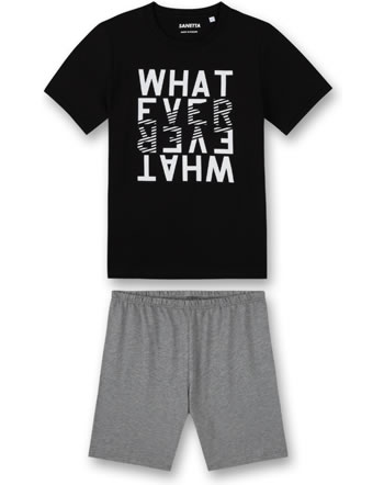 Sanetta Boys Pyjama short super black 245039-10015