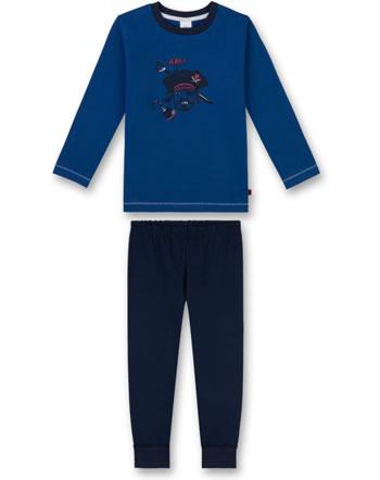 Sanetta Jungen Pyjama/Schlafanzug lang caribian blue 232269-50300