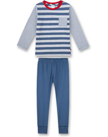 Sanetta Boys Pyjama long ink blue 232564-50096